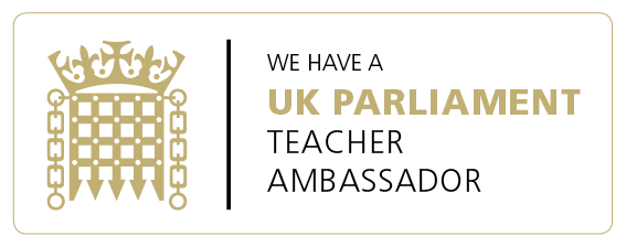 We have a UK Parliament Teacher Ambassador