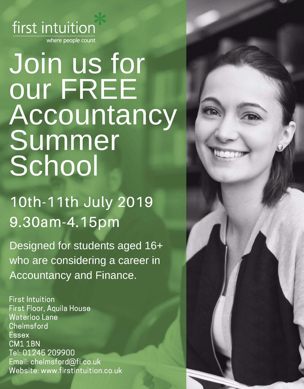 Free Accountancy Summer School