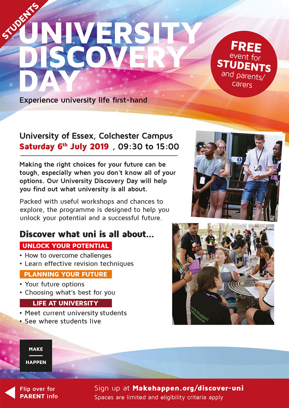 University Discovery Day