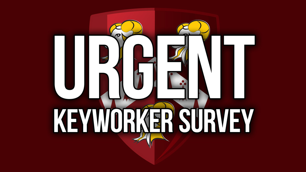 URGENT Key Worker Information