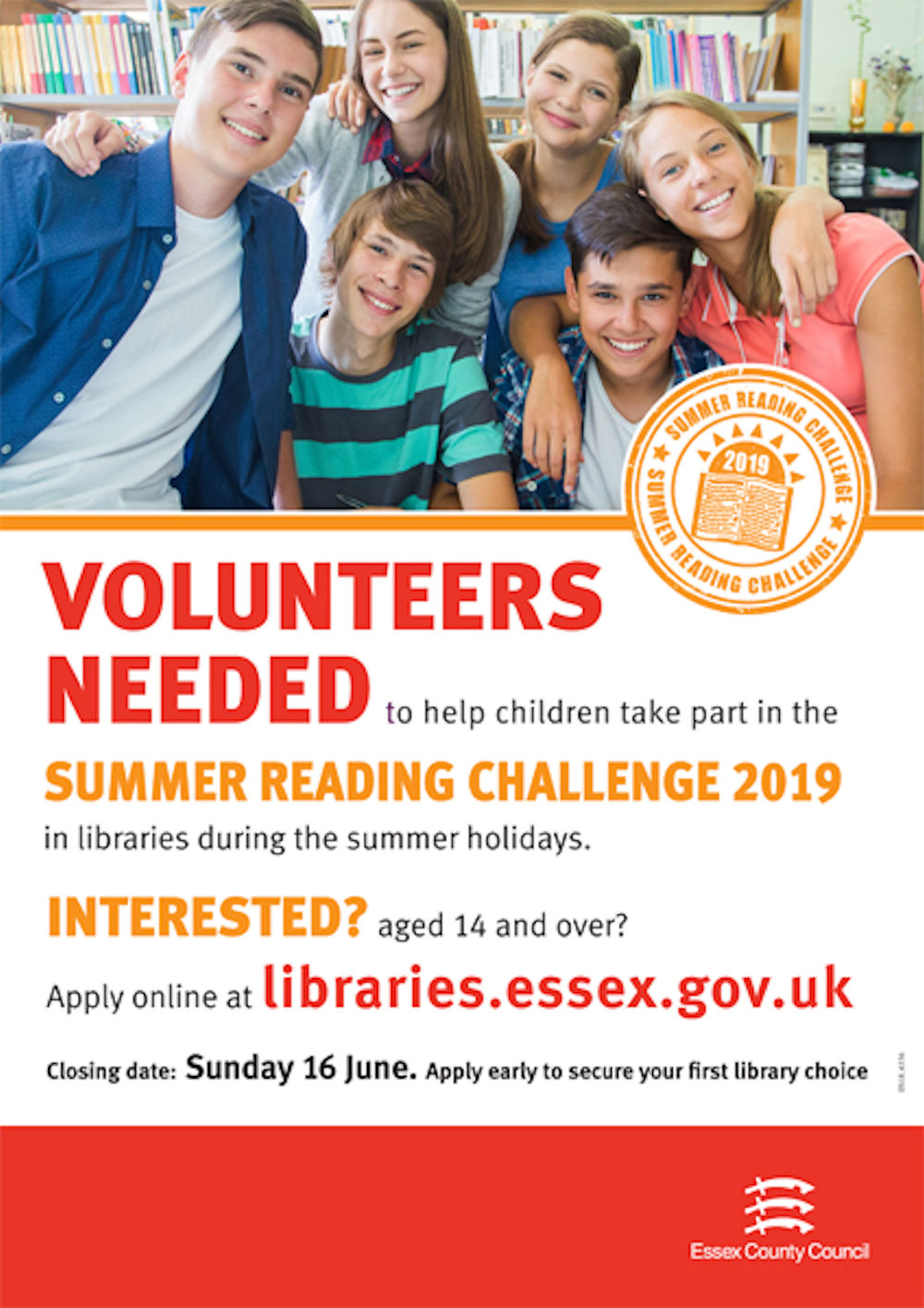 Essex Libraries Volunteering Event