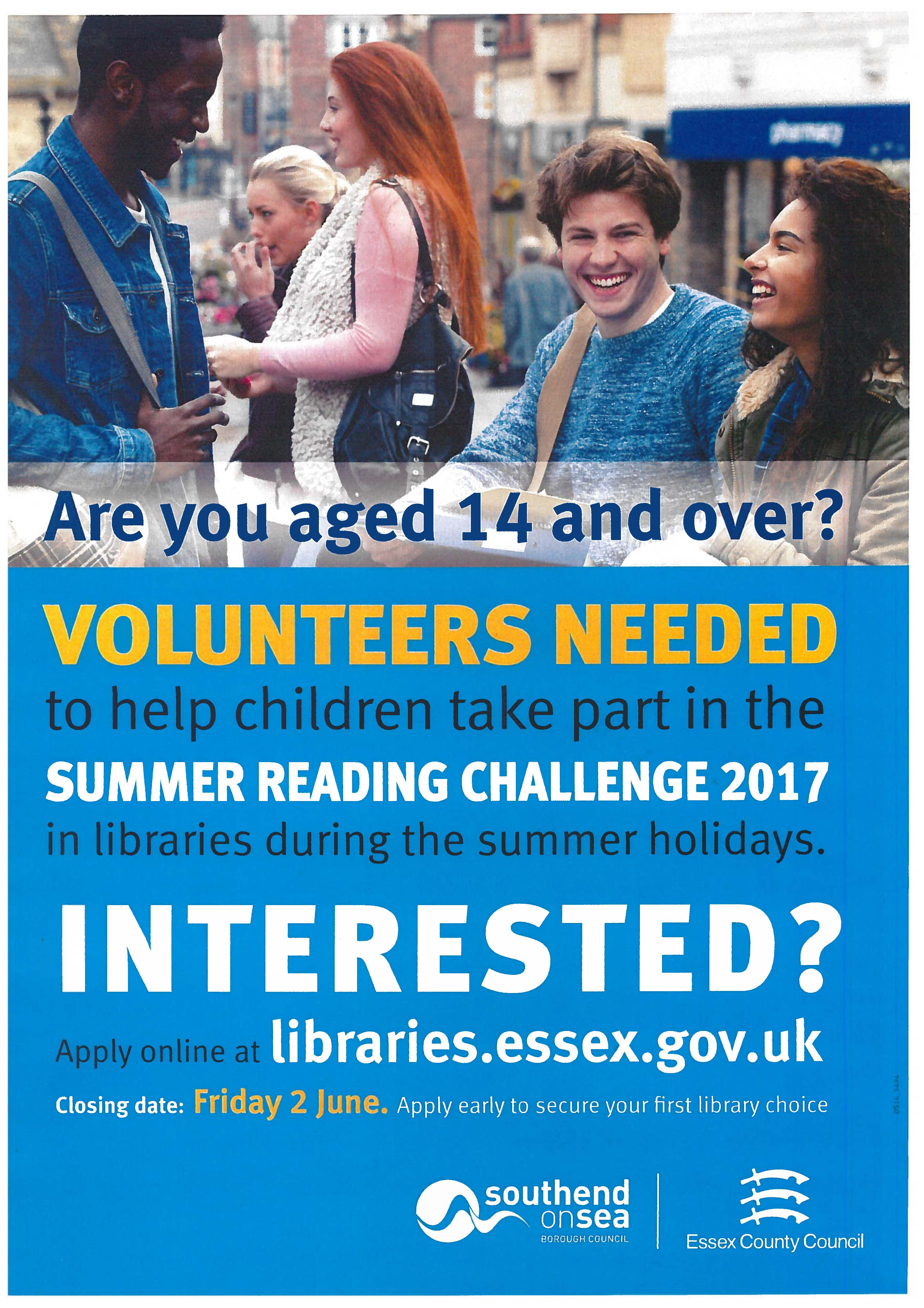 Essex Libraries Summer Reading Challenge 2017